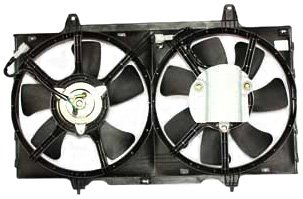 TYC 620040 Nissan Altima Replacement Radiator/Condenser Cooling Fan Assembly ()