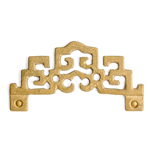 (CBH Old China Style Brass Picture Hook Hanger Hardware 3.6