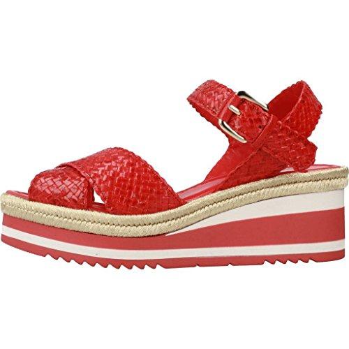 Pons Quintana Sandalias y Chanclas Para Mujer, Color Rojo, Marca, Modelo Sandalias Y Chanclas Para Mujer 6974 Rojo Rojo