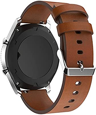 Pinhen - Correa deportiva impermeable, de silicona, para reloj Huawei Watch Withings, varios tamaños disponibles: 18 mm, 20 mm, 22 mm