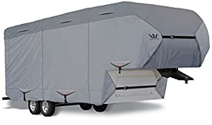 "S2 Expedition EX2FW3132 Gray 31'-32' 5th Wheel RV Cover (390""L x 102""W x 120""H)"