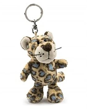Nici 26373 - Llavero con peluche de leopardo (10 cm): Amazon ...