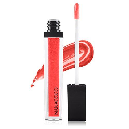 Nanacoco Nncc Mid-End Lip Gloss, Red, Kissing Lips
