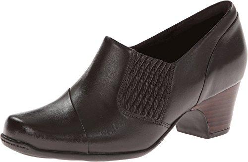 CLARKS Sugar Maple Womens Dark Brown Leather Loafer ()