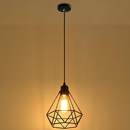 Lemonbest Industrial Vintage Edison Hanging Pendent Light