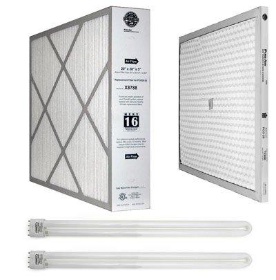 Wholehouse Lennox X8795 MERV 16 Maintenance Kit for PureAir Air Cleaner Model PCO20-28