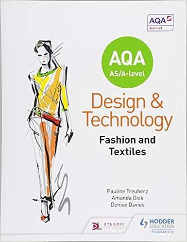 Aqa As A Level Design And Technology Fashion And Textiles 9781510413498 Amazon Com Books