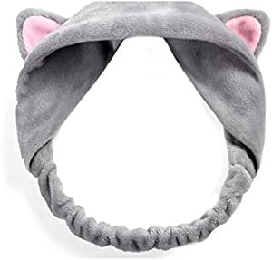 Novely Women Girls Cute Animal Headband Hair Band Turban Elastic Headbands QL