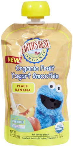 Earths Best Sesame Street Smoothies