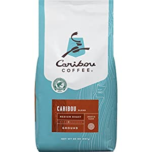 Caribou Coffee Caribou Blend Ground Medium Roast, 20 Ounce bag