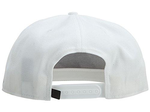 0b8c8b10331 Men s Air Jordan 843075-100 AJ Retro 7 Cap Snapback White Pure ...