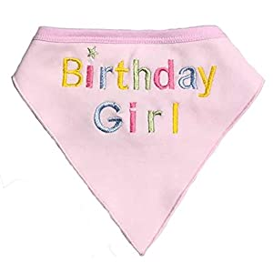 Alemon Dog Birthday Bandana for Dogs, Pink