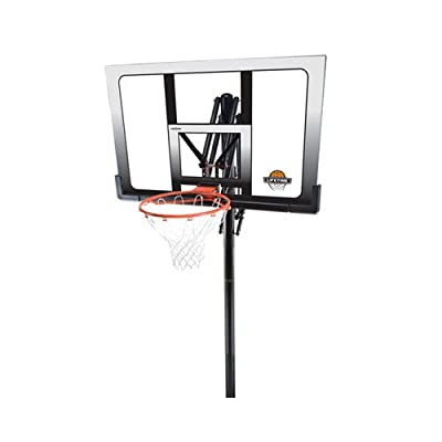 Lifetime In-Ground Power Lift Backboard Basketball System, 52-Inch
