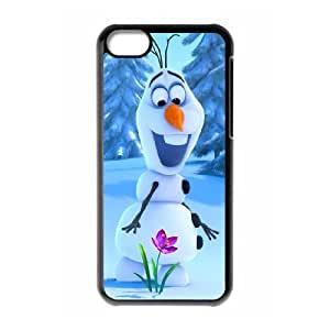 AinsleyRomo Phone Case Frozen forever and Snowman Olaf series pattern case For Iphone 5c [OLAF]92248