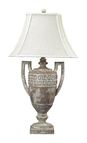 Dimond 93-9197 Traditional Large Greek Key Table - Greek Accent Lamp Key