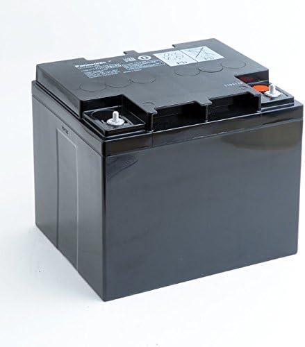Panasonic - Batería Plomo AGM LC-P1238APG FR 12V 38Ah M5-V: Amazon.es: Coche y moto