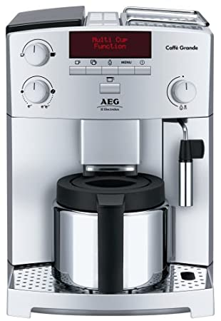 AEG Electrolux CG6400 Fully Automatic Bean To Cup Machine   Silver