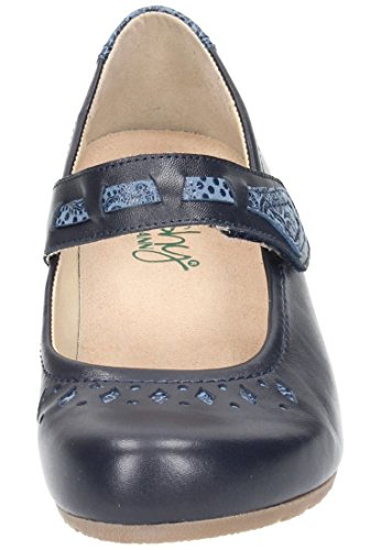 cushy by Dr. Brinkmann cushy by Dr. Brinkmann Damen Slipper - Mocasines de Piel para mujer Negro negro Azul - azul