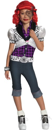 [Monster High Operetta Kids Costume, Small] (Female Adventurer Costume Ideas)