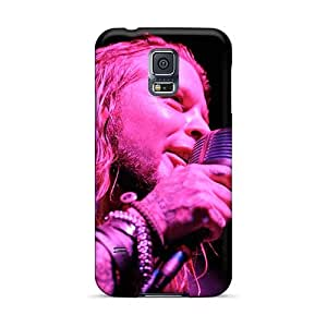 Durable Hard Cell-phone Case For Samsung Galaxy S5 With Provide Private Custom Vivid Drowning Pool Band Pattern SherriFakhry