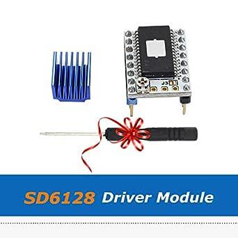 Impresora 3D - Piezas de impresora 3D 128 Microstep SD6128 V1.1 ...