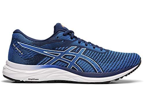 ASICS Men's Gel-Excite 6 Twist Running Shoes, 9.5M, Blue Expanse/White