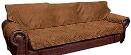 Solvit Sofa Full Coverage Pet Bed Protector, Cocoa