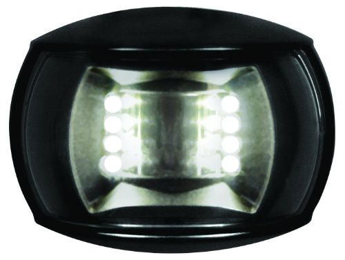 - HELLA 980520501 '0520 Series' NaviLED Multivolt White 8-28V DC 2 NM Compact Stern Navigation Light with Clear Lens and Black Shroud