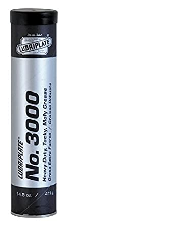 Lubriplate Fluid Products No. 3000, L0108-098, Moly-Lithium Type Grease, CTN 40/14.5 Oz Cart.