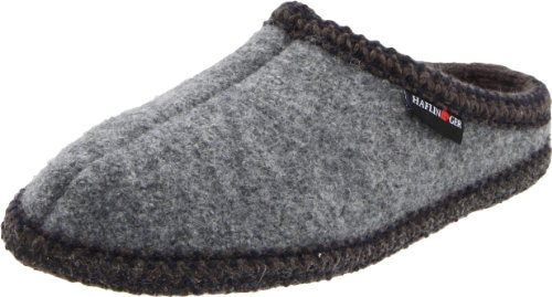 Haflinger Dames Als Wollen Indoor Slipper, Grijs, 39 Eu (us Womens 8 M)