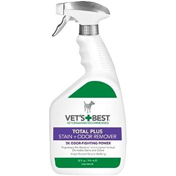 Amazon Com Vet S Best Total Plus Pet Stain Amp Odor