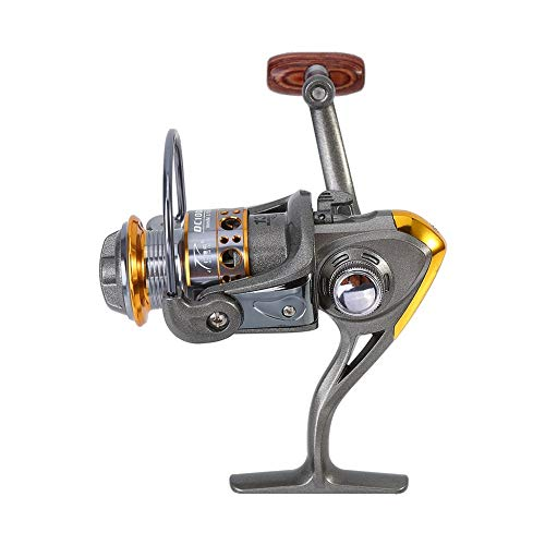 (DONG 13 Axis 1000-7000 Series Full Metal Spinning Fishing Reel Saltwater Freshwater Carp Fishing Wheel with 5.2:1 Gear Ratio,7000 Series)