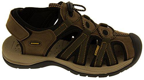 Northwest Territory Damas de Senderismo y Zapatos Marrón