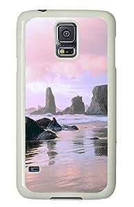 Samsung S5 case custom Face Rock State Park Oregon PC White Custom Samsung Galaxy S5 Case Cover
