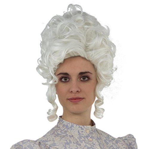 Classic 18th Century Baroque Marie Antoinette Wig Ladies Adult Halloween Cosplay Accessories