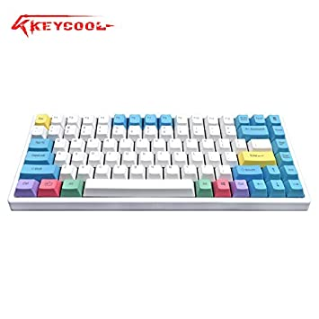 amazon com keycool hero 84 2018 edition mechanical keyboard cherry