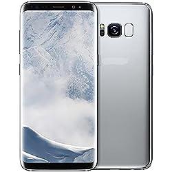 Samsung Galaxy S8+ Factory Unlocked Smart Phone 64GB Dual SIM - International Version (Silver)