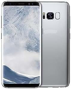 Samsung Galaxy S8 Factory Unlocked Smart Phone 64GB Dual SIM - International Version (Silver)