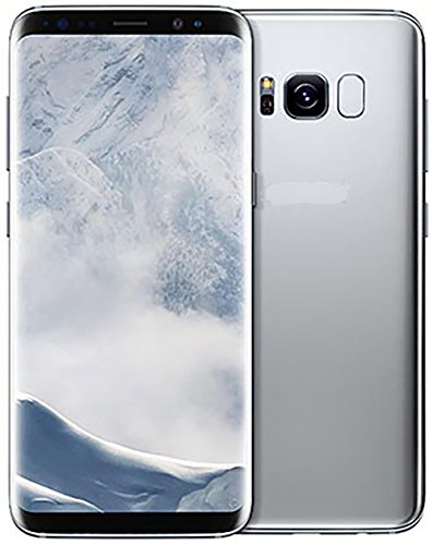 Samsung Galaxy S8 Factory Unlocked Smart Phone 64GB Dual SIM - International Version (Silver)