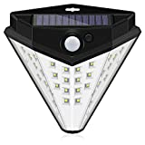 X·Power Diamond Shape Solar Lights Outdoor, Wireless 32 LED Lights of 4 Sides with Wide Lighting Area,Super Fashion,Waterproof Security Lights for Front Door, Garden, Patio,Yard (1 Pack) Review