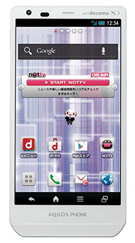 NTT Docomo Sharp Aquos Zeta SH-02E 32GB Quad-Core Unlocked GSM 4G LTE Android Smartphone w/ 16MP Camera - White (Smart Phone Sharp compare prices)