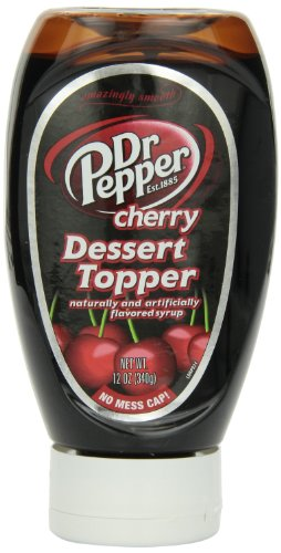 Dr Pepper Cherry Dessert Topper, 12-Ounce (Pack of 6)