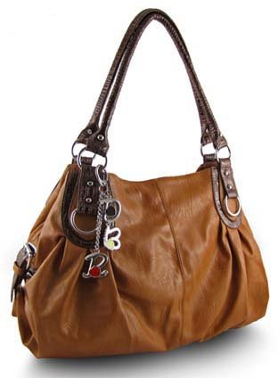 Large Zipper Tote Handbag (Desert Orange), Bags Central