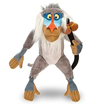 "Disney Store The Lion King 16"" Rafiki Plush Stuffed Animal Toy ..."