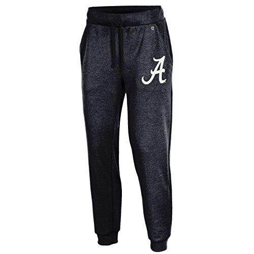 NCAA Alabama Crimson Tide Women's Champion Cool Down Jogger Pants, Large, Black Alabama Pants