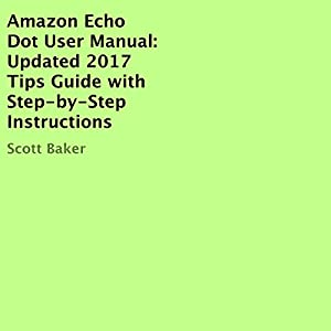 Amazon Echo Dot User Manual Audiobook
