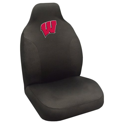 - CC Sports Decor NCAA University of Wisconsin Badgers Seat Cover Automotive Accessory