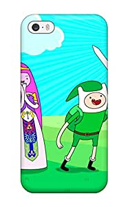 For Iphone 5/5s Premium Tpu Case Cover Adventure Time Protective Case 6029223K24382623