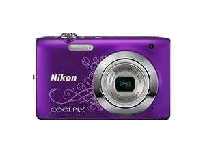 """Nikon Coolpix S2600 - Cámara compacta de 14 Mp (pantalla de 2.7"""", zoom óptico 5x, estabilizador de imagen ) color morado"""