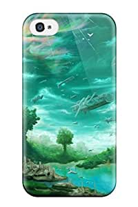 High Impact Dirt/shock Proof Case Cover For Iphone 4/4s (fantasy) by icecream design